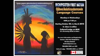 Michipicoten Ojibwe Language Classes