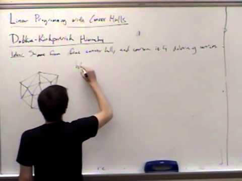 Computational Geometry Lecture 12: Data structures for linear programming