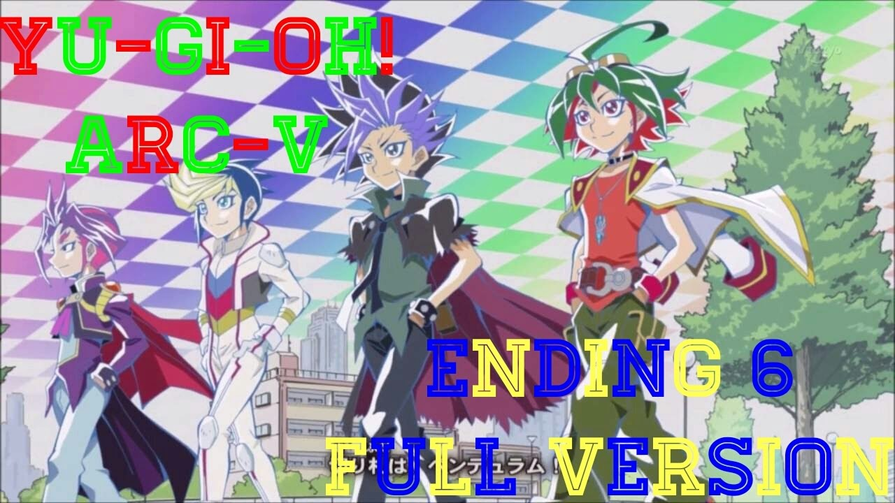 yugioh arcv ending 6 full dashing pendulum youtube