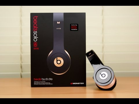 Beats by Dr. Dre Apple Limited Edition Solo HD Unboxing (HD)