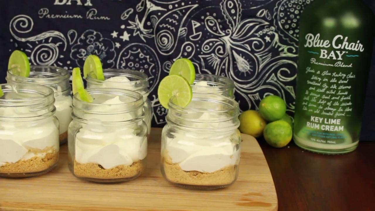 Key Lime Rum Cream Mason Jar Cheesecakes Youtube