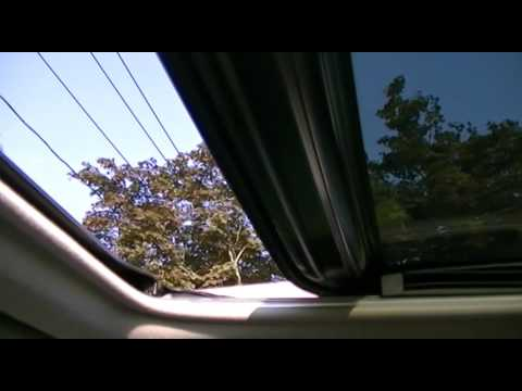 2007 Toyota Camry Sunroof/Moonroof Recalibration Procedure