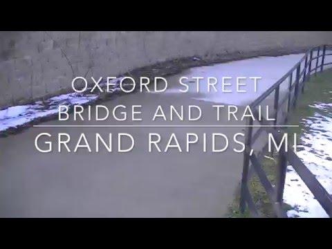 Oxford Street Bridge and Trail, Black Hills, Grand Rapids, MI