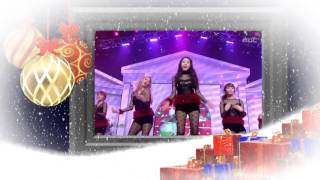 [원더걸스]Wonder Girls - All I Want For Christmas + Be My Baby [Music Core 20111224]