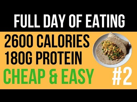 2600 calorie diet with 140g protein