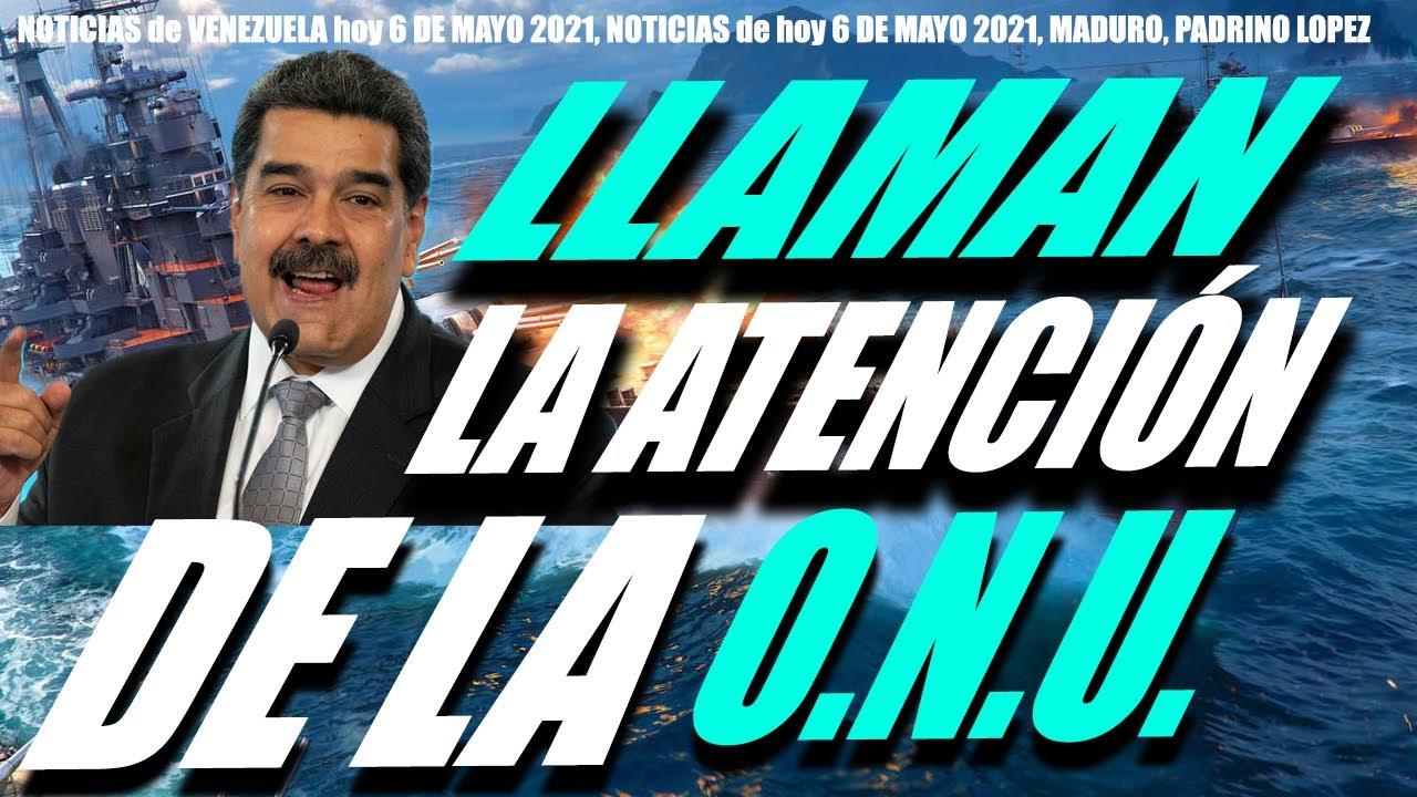 La ONU vincula al régimen de Maduro