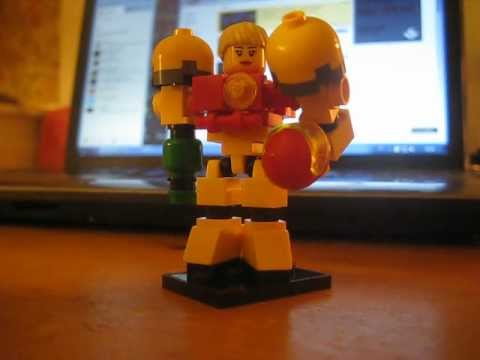 Lego Samus Aran from Metroid - YouTube