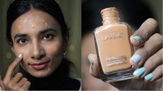 Lakme Perfecting Liquid Foundation Review | Cheap,Affordable Foundation for Indian Skin