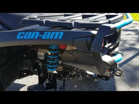 Can Am Outlander 850 6 Inch Lift Update Walkaround