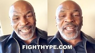 MIKE TYSON AS REAL AS IT GETS ON MAYWEATHER, LENNOX LEWIS, CHAVEZ, LOMACHENKO-TANK, WHITAKER, & MORE