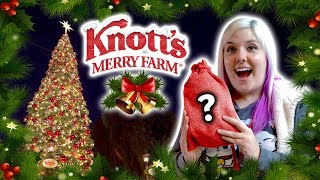 Christmas mystery bags, carnival games and claw machines at Knott's Merry Farm!