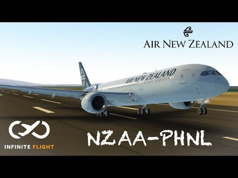 |Long Haul| Auckland to Honolulu || Air New Zealand; Boeing 789