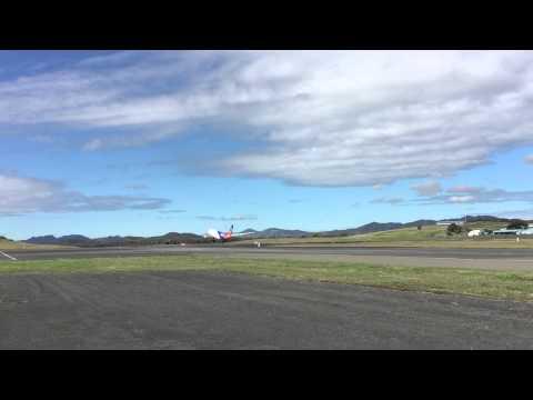 Décollage Nouméa la Tontouta Aircalin A330-200