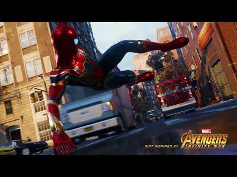 Marvel S Spider Man Iron Spider Suit Revelado Ps4 Youtube