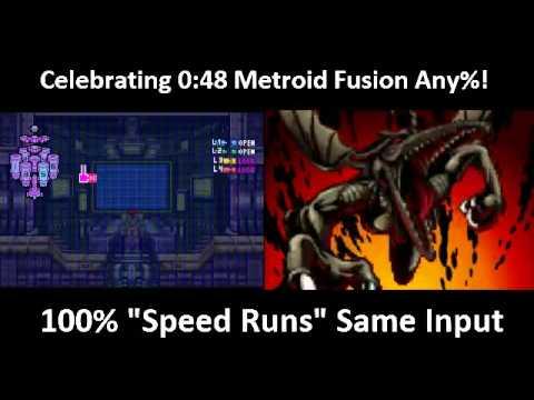 Metroid Fusion Zero Mission 100 Same Input