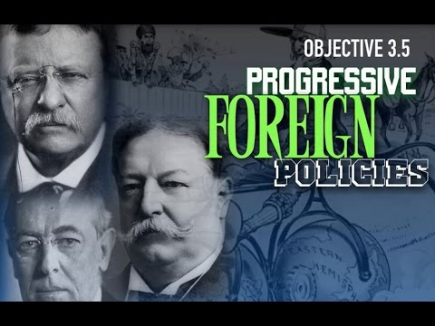 Objective 3.5- Progressive Foreign Policy