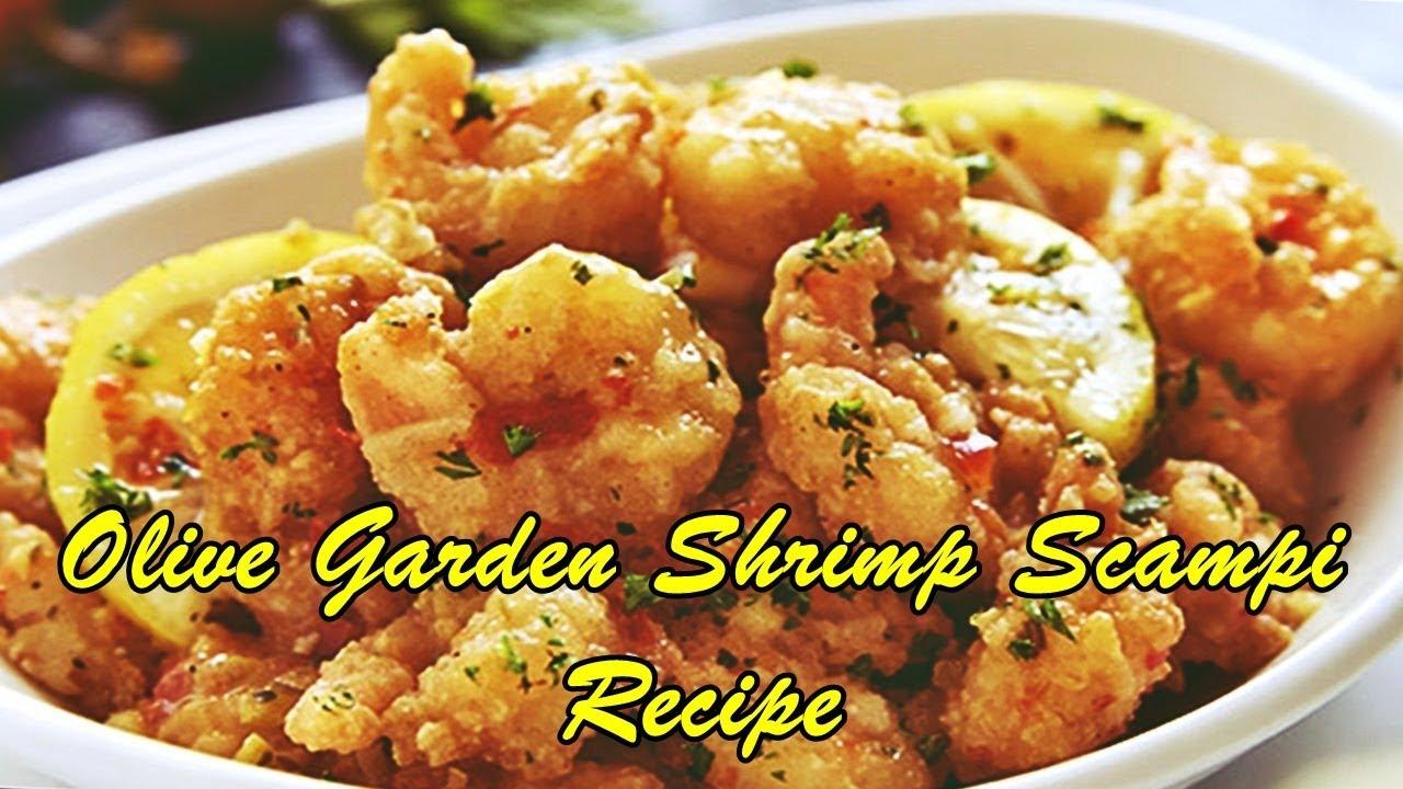 olive garden shrimp scampi recipe - Olive Garden Shrimp Scampi