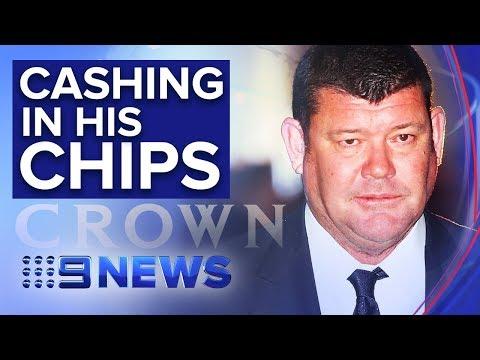 James Packer sells half his Crown Resorts stake for $1.76bn | Nine News Australia