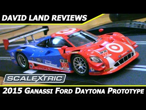 Scalextric Ford Daytona Prototype Slot Car Review [C3769]