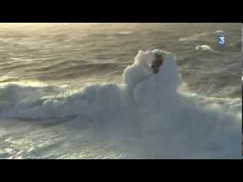 Tempête en mer d'Iroise, samedi 1er février 2014 - YouTube