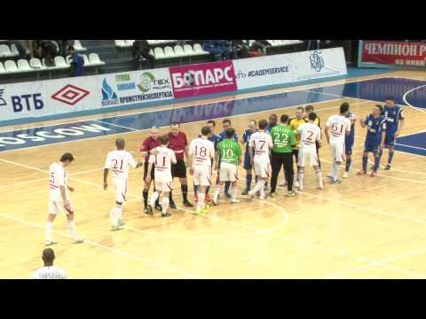 DYNAMO Vs SIBIRYAK. Futsal.Championship Of Russia. 14/04/2012