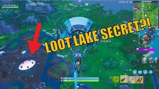 Loot Lake Secret?! - Fortnite - Toys And More Club