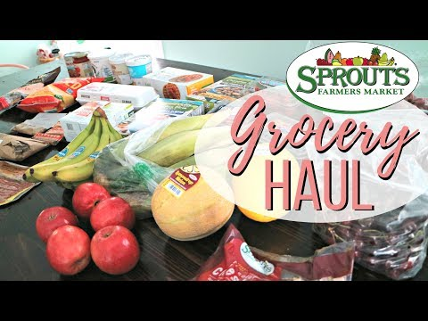 GROCERY HAUL | Sprouts Farmers Market | Less Than $100!
