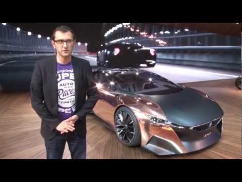 Peugeot Onyx - Paris Motor Show 2012 - XCAR