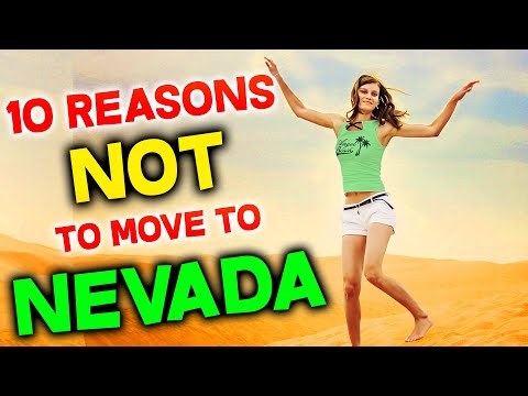 Top 10 Reasons NOT to Move to Nevada