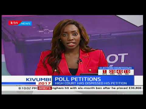 High Court dismisses MP Pkosing's petition compelling Odinga to participate in polls: The Big Story