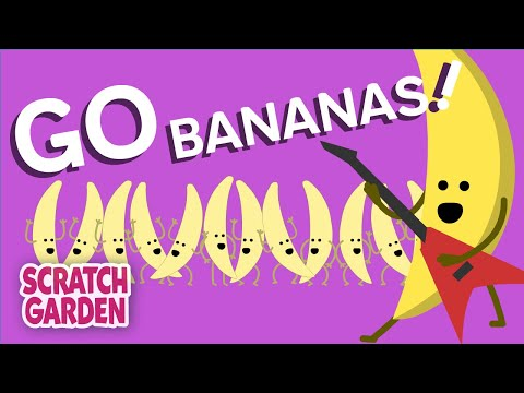 Go Bananas! | Camp Song | Scratch Garden