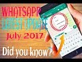 WhatsApp's​ New Fonts Feature Update on July 2017