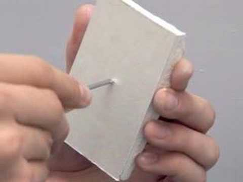 Collins DIY Survival Demos - How to Fix Damaged Plasterboard