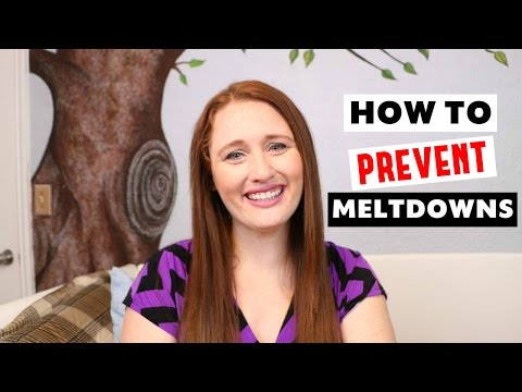 HOW TO PREVENT AN AUTISM MELTDOWN OR TANTRUM || Autism Tips For Caregivers