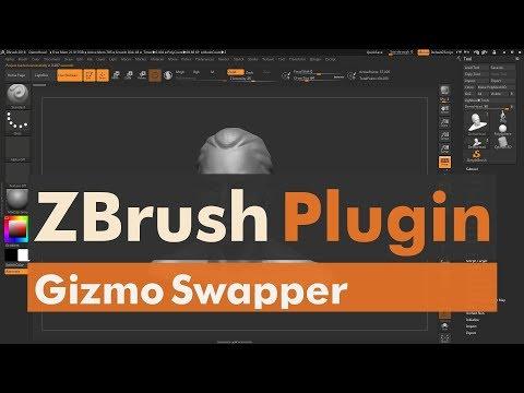Gizmo Swapper - Pixologic's ZBrush 4R8 Plugin