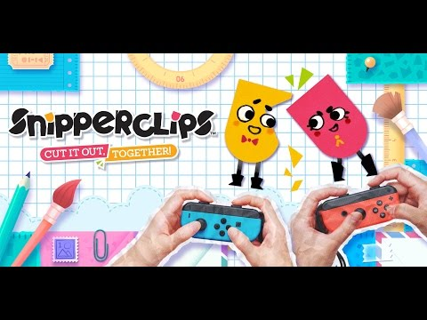Switch Longplay [002] Snipperclips - Cut it out, Together!