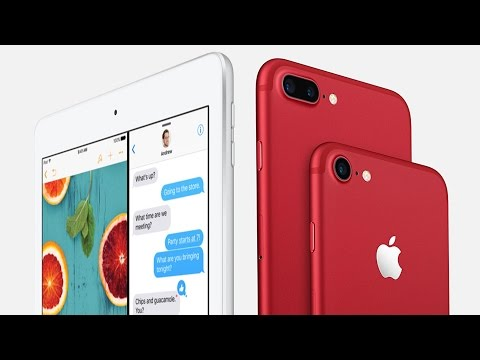 Apple Announces New iPad and Red iPhone 7!