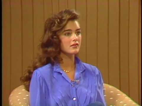 16 year old Brooke Shields