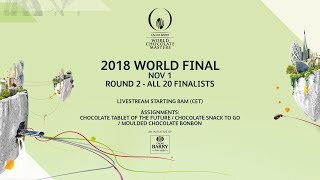 ROUND 2 - 2018 WORLD FINAL World Chocolate Masters