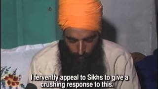 Sant Jarnail Singh Bhindranwale   RARE Footage days before Operation Bluestar
