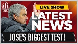 Mourinho's HUGE Man United Test! MAN UTD News