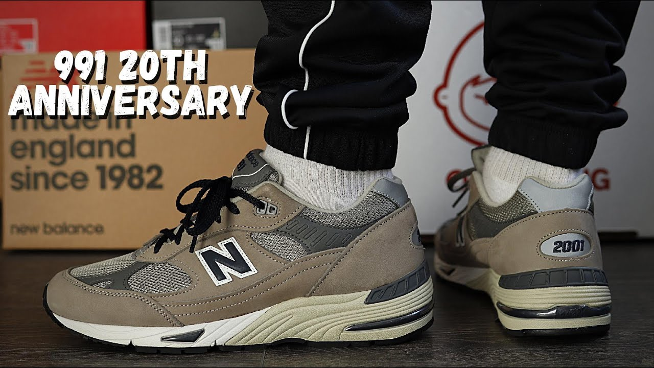 New Balance 991 20TH ANNIVERSARY On Foot Review M991ANI