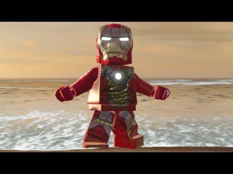 Lego Marvels Avengers How to Unlock Iron Man (MK5) in Malibu