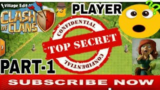 Top Secret Player Of (COC) Clash Of Clans in Hindi | Hidden Secret Player Part-1 |Clash With Bhargav