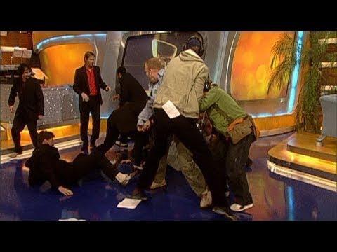Prügelei im TV total Studio! - TV total