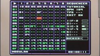 NerdSEQ Tutorial 3 - Sequencer Screen