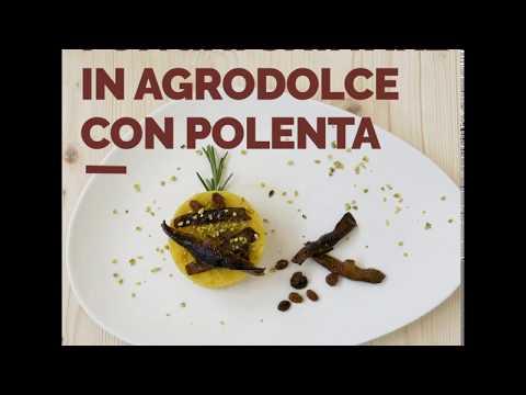 Funghi Shiitake IoBoscoVivo in agrodolce con polenta