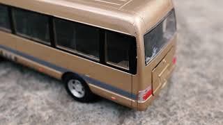 Unboxing of Toyota Coaster/Hino Liesse Bus - Diecast Model Car
