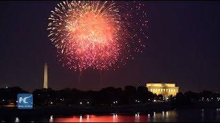 4th of July Fireworks Light Up Washington D.C. (2018) 4K Ultra HD