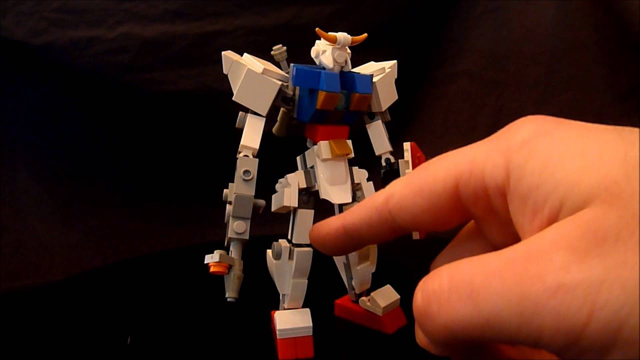 Gundam Using New Lego Ball Joints By Bwtmt Brickworks